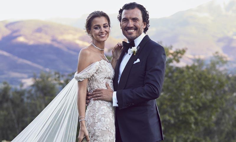 El romántico 'sí, quiero' de Gabriela Palatchi, la novia que creció entre vestidos blancos