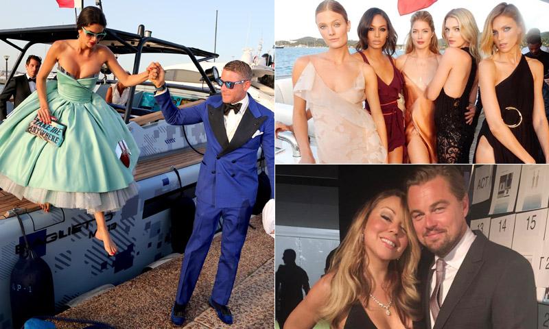 Estrellas de Hollywood, las modelos más cotizadas, empresarios y hasta un príncipe... ¿Quién los reunió?