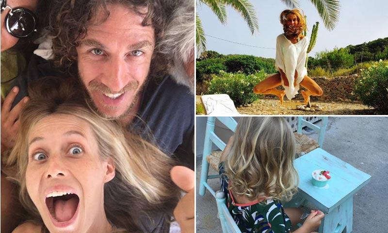 Familia, amigos ¡y ganas de divertirse! Las locas vacaciones de Vanesa Lorenzo