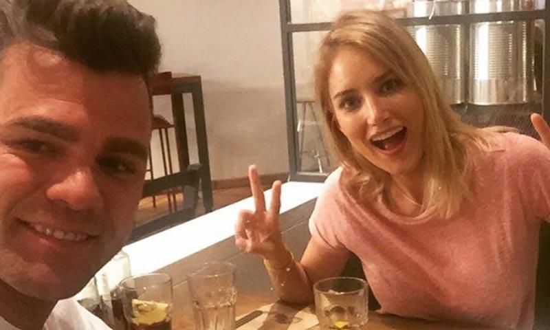 El encuentro con su ex, Fonsi Nieto, que ha despertado una sonrisa en Alba Carrillo