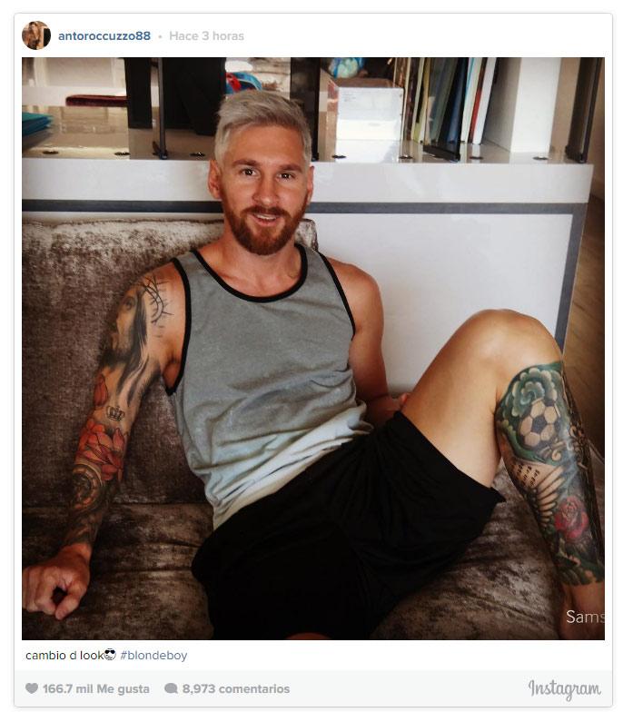 El cambio de 'look' de Leo Messi que te va a dejar con la boca abierta