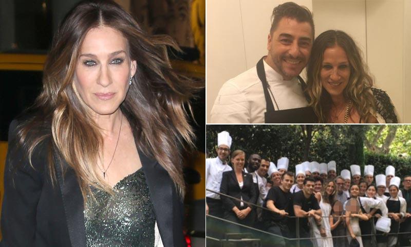 ¡Totalmente apetitosa! La ruta gastronómica de Sarah Jessica Parker por España