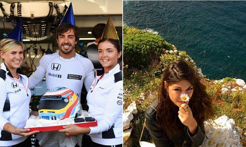 La tierna felicitación de Linda Morselli a Fernando Alonso por su cumpleaños