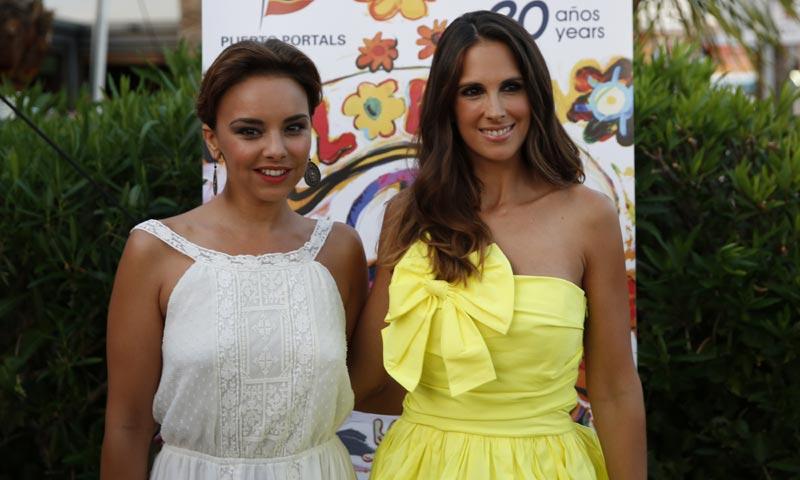 Chenoa y Nuria Fergó juntas en Puerto Portals antes de la reunión de Operación Triunfo
