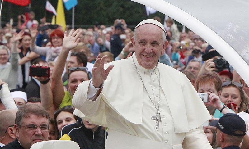 Foto a foto: Los mejores momentos del Papa Francisco durante la Jornada Mundial de la Juventud de Polonia