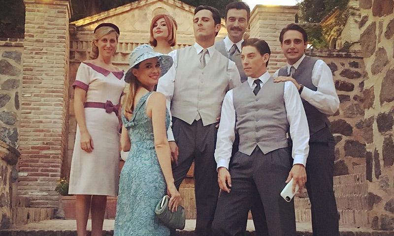 La boda más esperada, emotivas despedidas... Todas las sorpresas del fin de rodaje de 'Velvet'