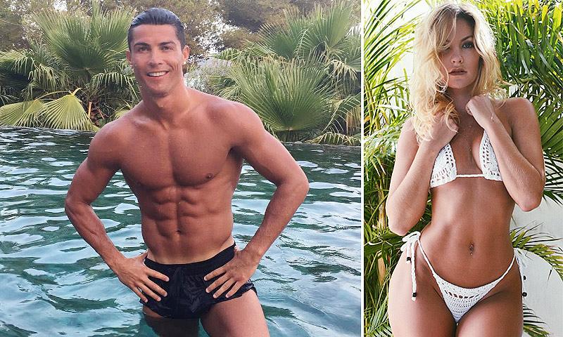 Cassandre Davis, la nueva (y explosiva) conquista de Cristiano Ronaldo