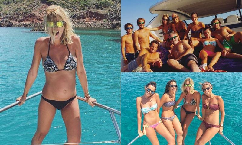 ¡Un verano a toda vela! Las vacaciones en familia de Amaia Salamanca y Rosauro Varo