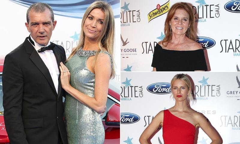 Antonio Banderas se rodea de estrellas en la gala Starlite