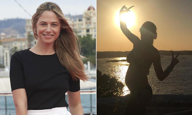 Las primeras imágenes de Martina Klein presumiendo de 'tripita'
