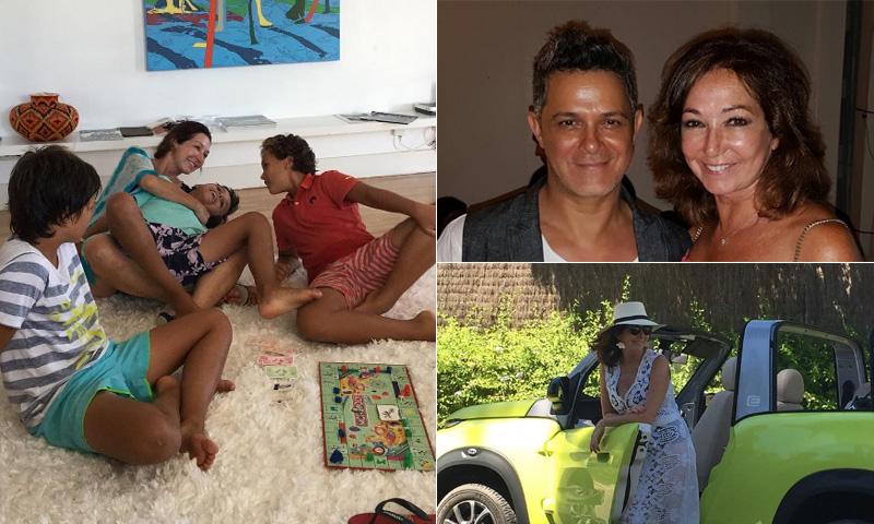 Así está siendo el verano de Ana Rosa Quintana tras la boda de su hijo