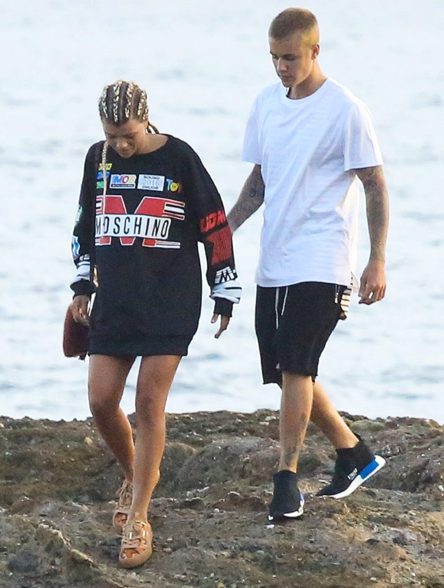 Justin Bieber Sofia Richie naked (26 photo) Cleavage, 2015, braless