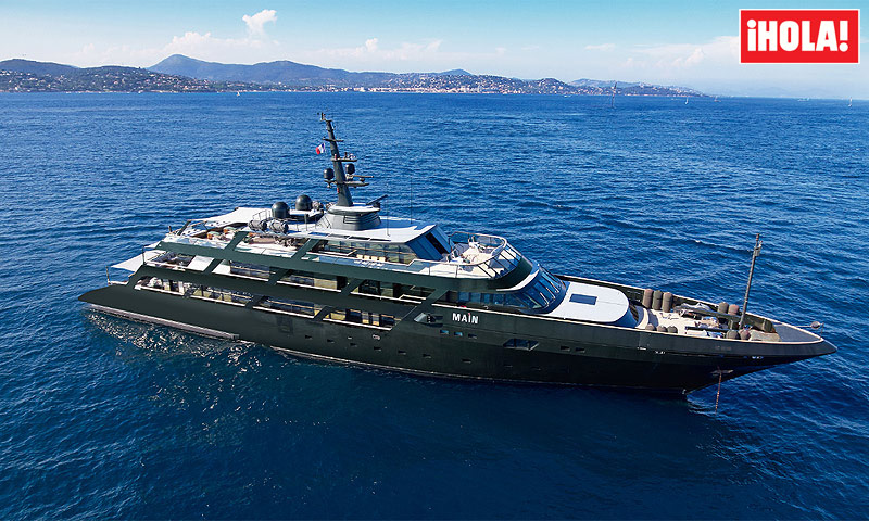 ¿Quieres ver el impresionante barco de Giorgio Armani?