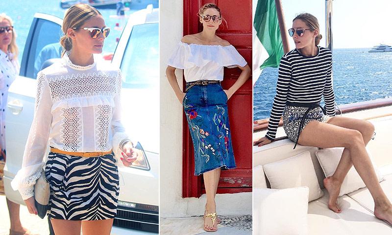Olivia Palermo o cómo no perder ni un ápice de estilo en vacaciones