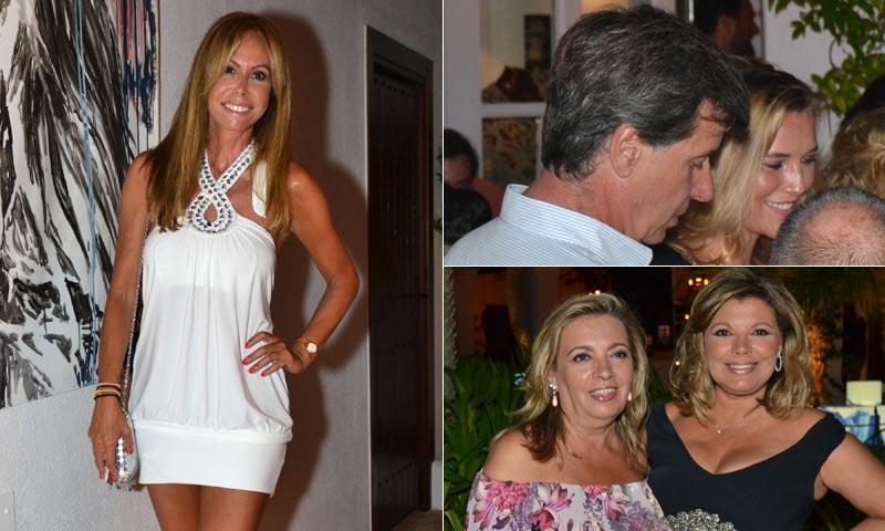 Lara Dibildos se lleva a Anna Barrachina a la gran fiesta del verano marbellí