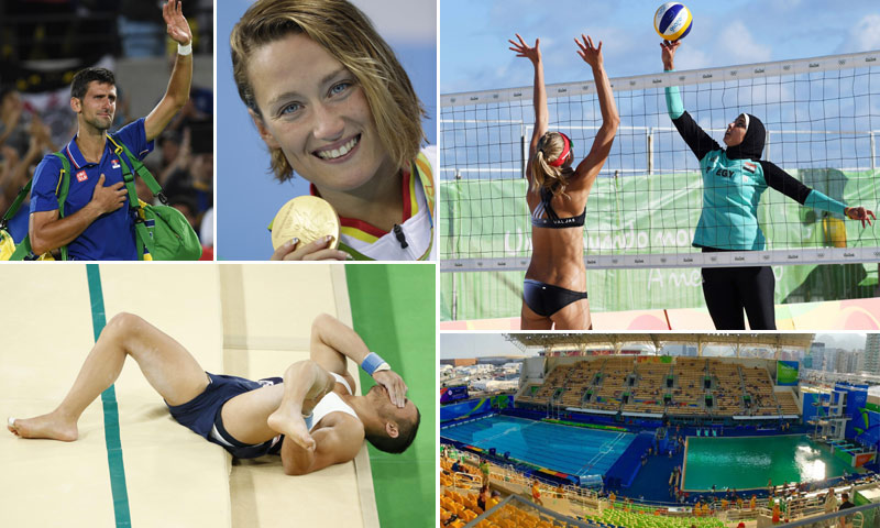 Foto a foto y día a día: Los momentos más impactantes de los Juegos Olímpicos de Río de Janeiro