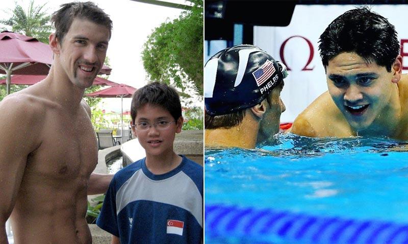Joseph Schooling, el niño que soñaba con ser como Michael Phelps y le batió en Río