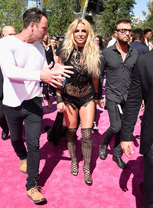 Fotos atractivas de Britney Spear