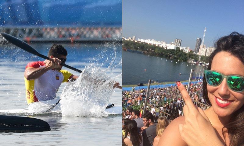 Abrazos, directos y tatuajes, así viven Irene Junquera y Cristian Toro el oro en Río