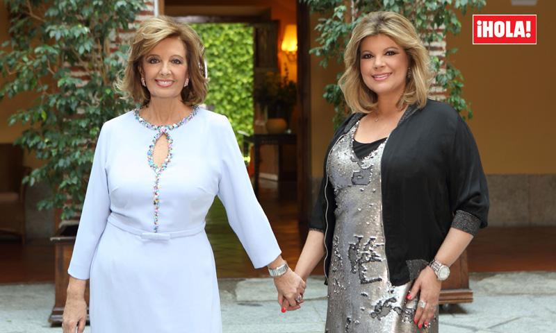 María Teresa Campos y Terelu, 'inquietas' ante el estreno de su programa