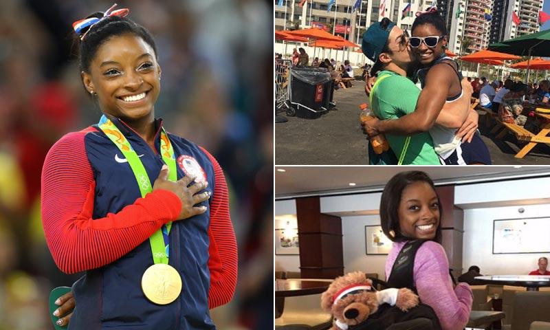 Descubre la historia de Simone Biles: su difícil infancia, su 'novio brasileño' y la gloria olímpica