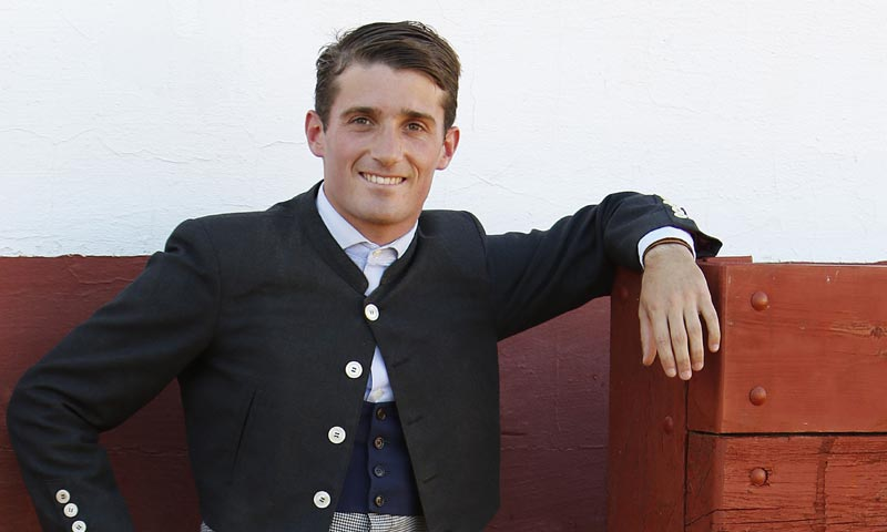 Alfonso, el hijo novillero de César Cadaval: 'Es espectacular la oportunidad que me han dado los hermanos Rivera Ordoñez'