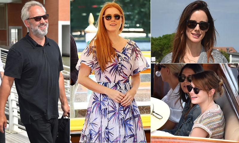 Emma Stone, Amy Adams, Pilar López de Ayala... Comienzan a llegar las estrellas al Festival de Venecia