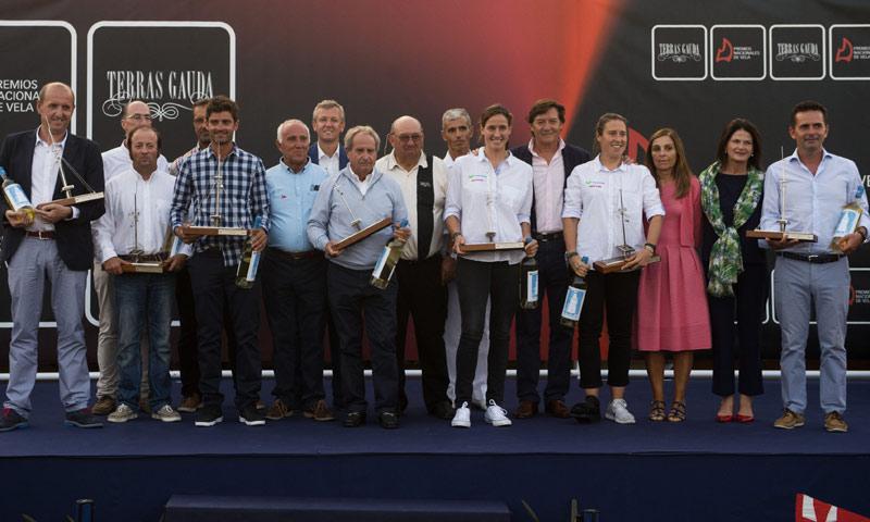Se entregan los Premios Nacionales de Vela Terras Gauda