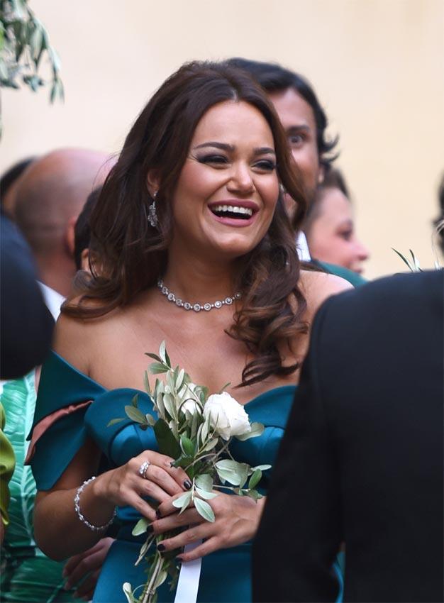 Al bano y romina power celebran la boda de su hija cristel for Bano y romina power
