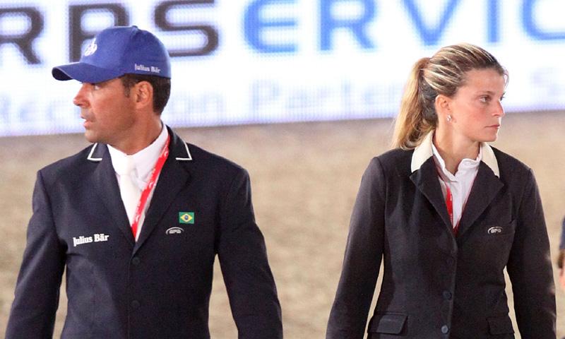 Fin de la tregua: Athina Onassis y Doda Miranda, enfrentados por un caballo