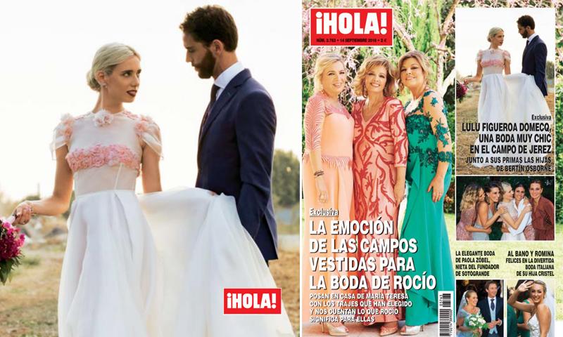 Exclusiva en ¡HOLA!: Todas las fotografías de la boda de Lulu Figueroa-Domecq y Adrián Saavedra