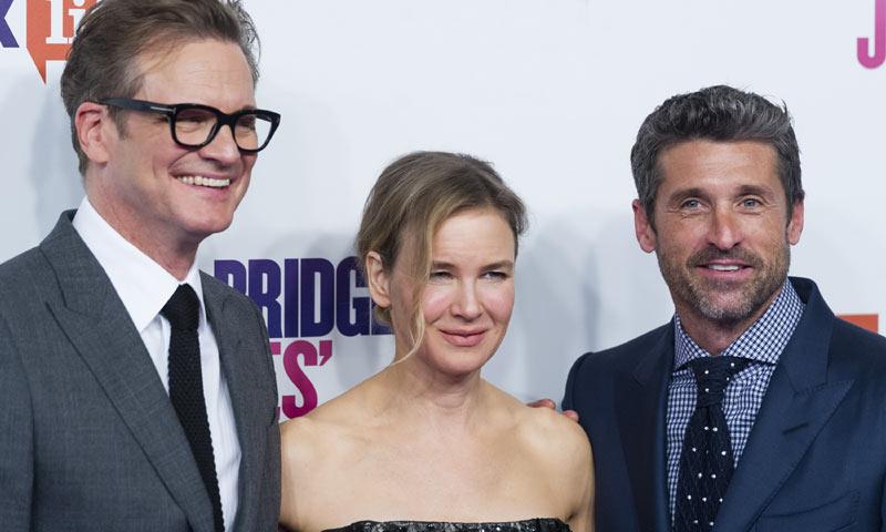 ¡'Bridget Jones' está de vuelta! Renée Zellweger revoluciona Madrid con sus chicos