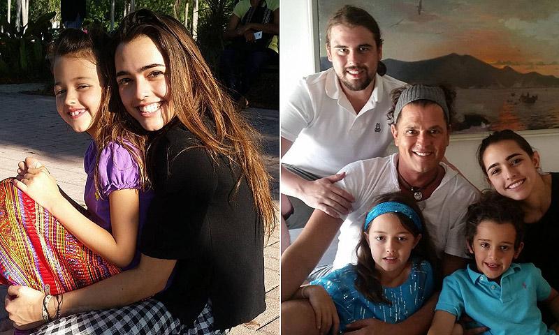 Descubre a Lucía, la hija de Carlos Vives que ha revolucionado las redes sociales