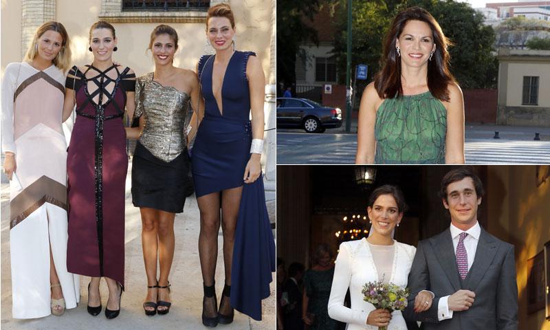 Las hijas de Bertín Osborne y su mujer, de boda familiar en Sevilla