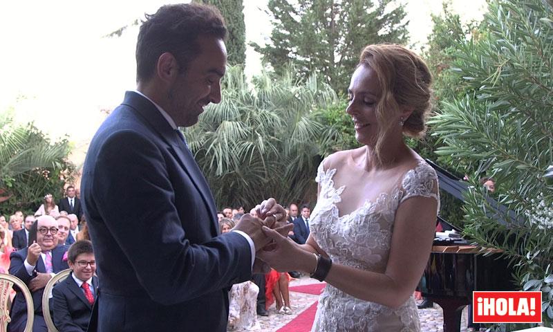 Por primera vez en vídeo todas las imágenes exclusivas de la boda de Rocío y Fidel