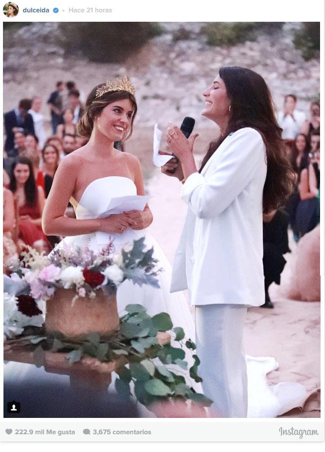 Vestido boda dulceida