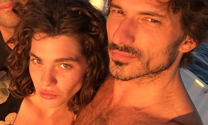La modelo Steffy Argelich, sobre su relación con Andrés Velencoso: 'Preguntadle a él'