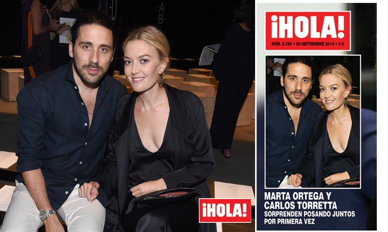 En ¡HOLA!, Marta Ortega y Carlos Torretta, el mensaje que esconde esta imagen