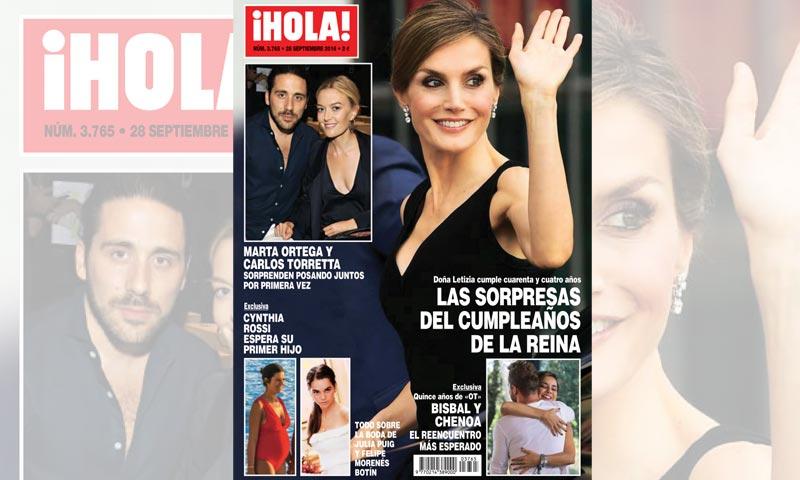 En ¡HOLA!, las sorpresas del cumpleaños de la reina Letizia, los detalles de la boda de Julia Puig y Felipe Morenés Botín y mucho más...