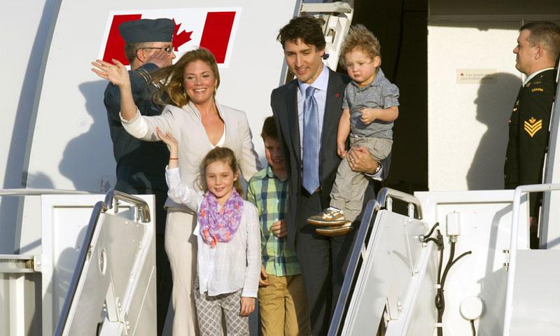 Justin y Sophie Trudeau, la fascinante historia de la familia conocida como los Kennedy de Canadá