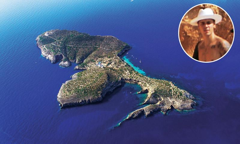 Justin Bieber alquila la mejor isla privada del Mediterráneo