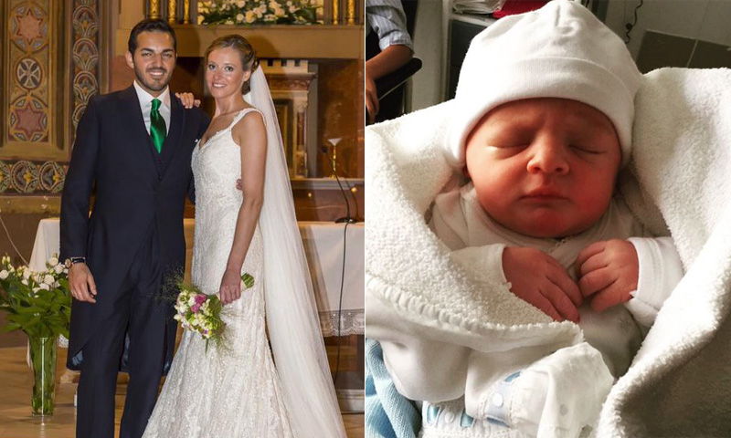 Andrea Prat da a luz a su primer hijo