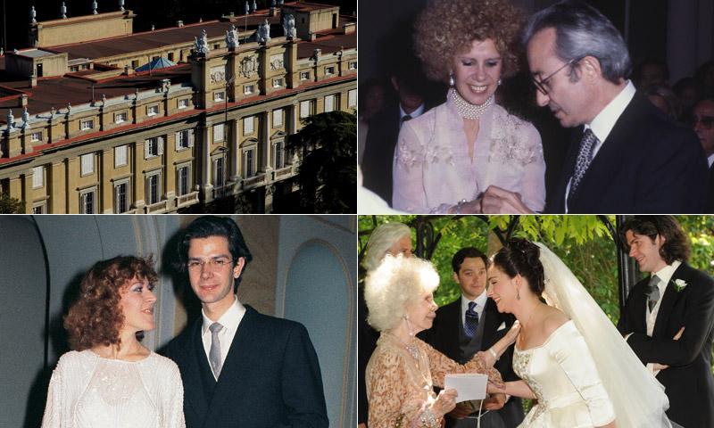 FOTOGALERÍA: Las otras bodas de los Alba en el Palacio de Liria