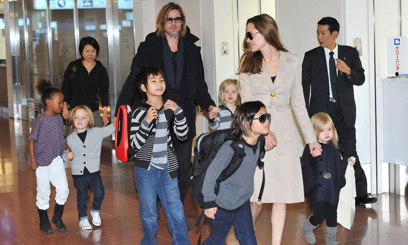 Brad Pitt y Angelina Jolie llegan a un acuerdo temporal sobre la custodia de sus hijos