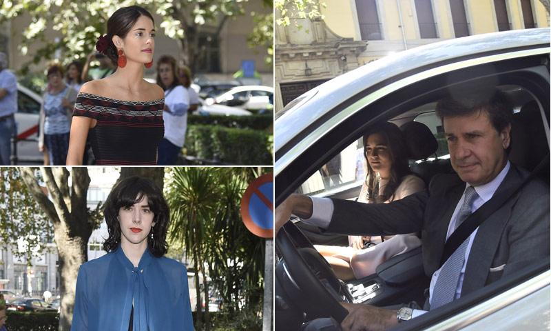 Cayetano Martínez de Irujo, Sofía Palazuelo... acuden a la boda de Luis Martínez de Irujo y Adriana Marín en el Palacio de Liria