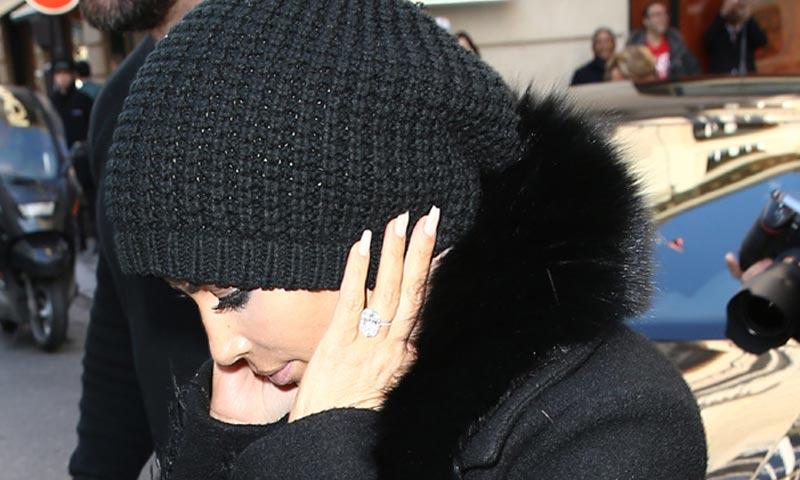 La significativa joya que le han robado a Kim Kardashian