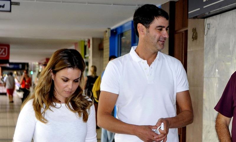 Jesulín de Ubrique, paciente en la clínica dental de su mujer María José Campanario