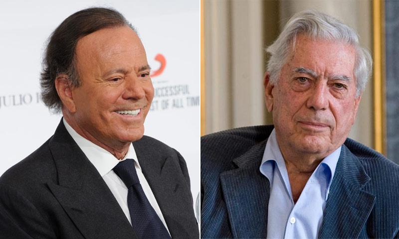 Las palabras de admiración de Julio Iglesias hacia Mario Vargas Llosa