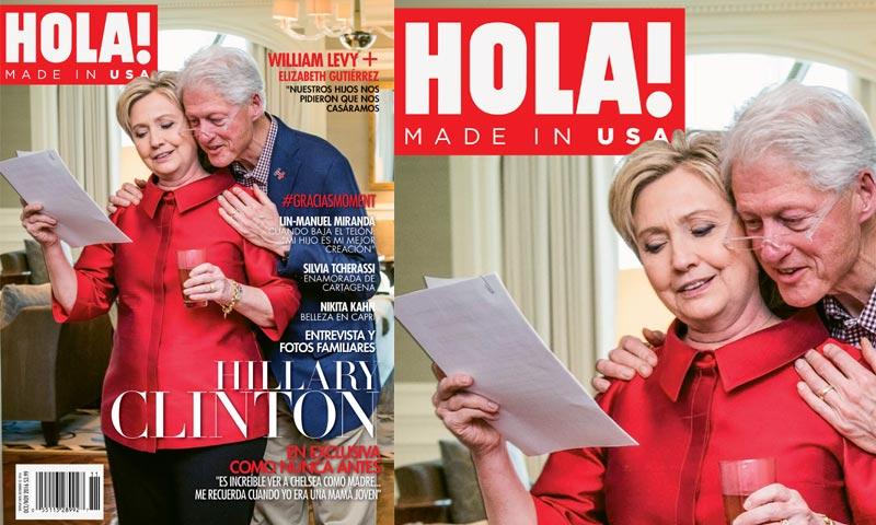 Hillary Clinton en exclusiva para HOLA! USA: 'Es increíble ver a Chelsea como madre. Me recuerda cuando yo era una mamá joven'