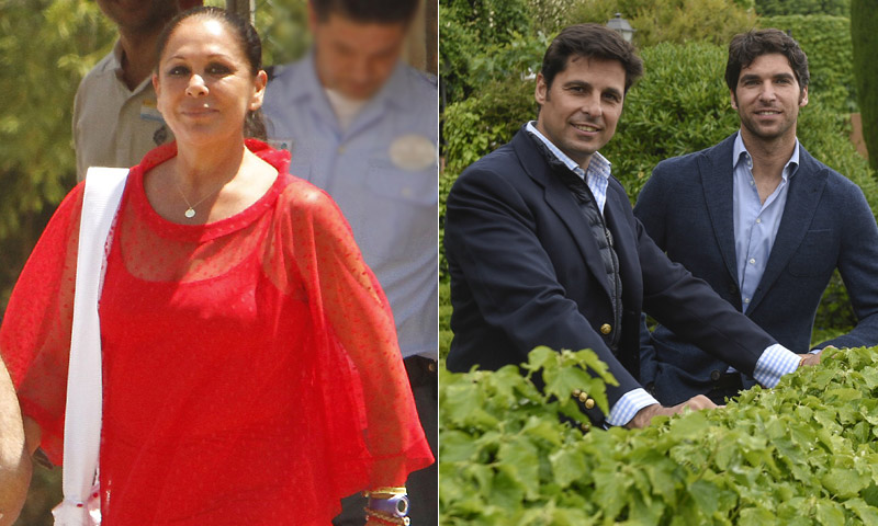 El esperado encuentro de Francisco y Cayetano Rivera con Isabel Pantoja, a punto de producirse